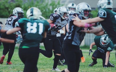 Womens Gridiron - Lady Raiders vs Croydon Rangers
