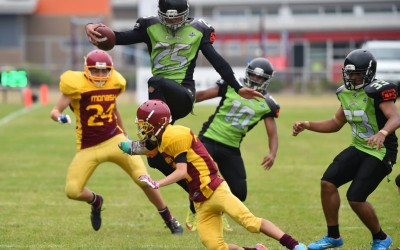 Gridiron Victoria - Juniors Warriors v Silverbacks