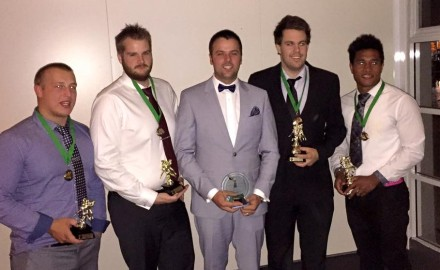 Gridiron Tasmania - Awards night 2016