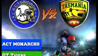 Exhibition Match - ACT Gridiron vs Gridiron Tasmania